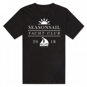 seashonsail yacht club tshirt